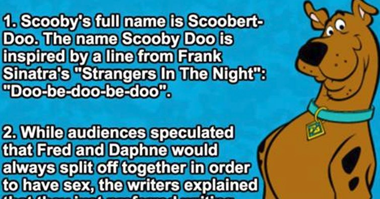 21 Surprising Facts About 'Scooby Doo'