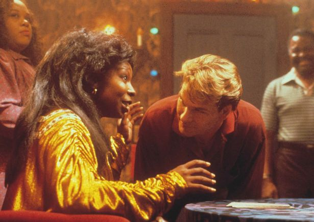 2 9 Patrick Swayze REFUSED to star in Ghost unless Whoopi Goldberg was cast
