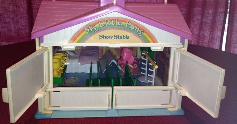 10 My Little Pony Toys We All Had In The 80s!