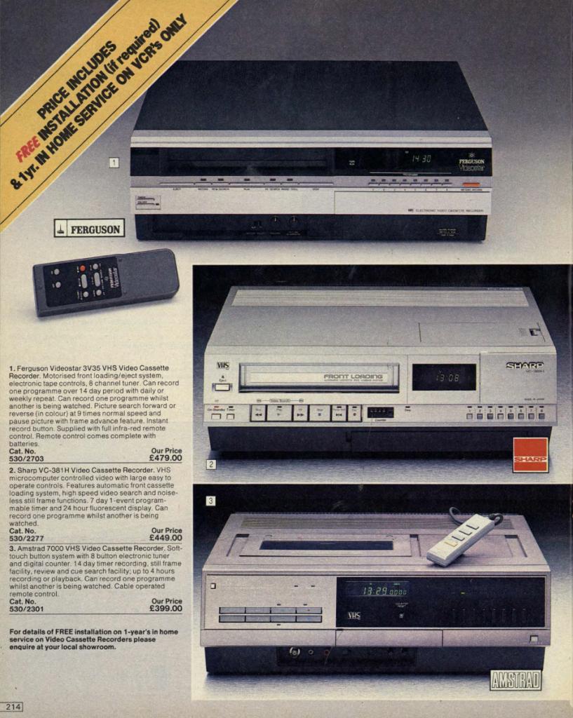 argos 16 Check Out This 1984 Argos Catalogue! (24 Photos)