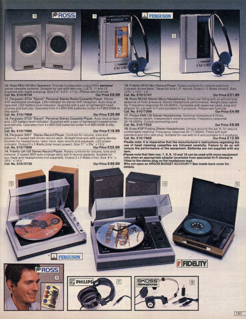 argos 19 Check Out This 1984 Argos Catalogue! (24 Photos)