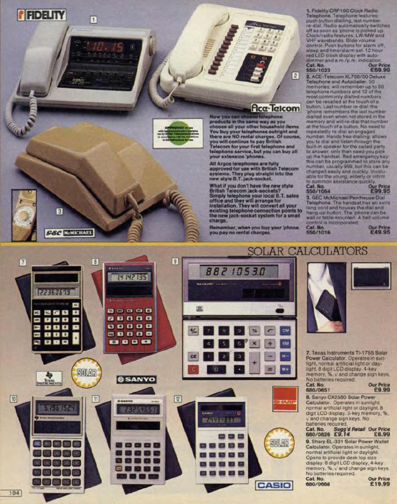 argos 2 Check Out This 1984 Argos Catalogue! (24 Photos)