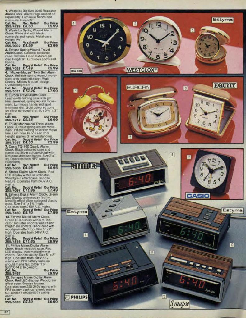 argos 5 Check Out This 1984 Argos Catalogue! (24 Photos)
