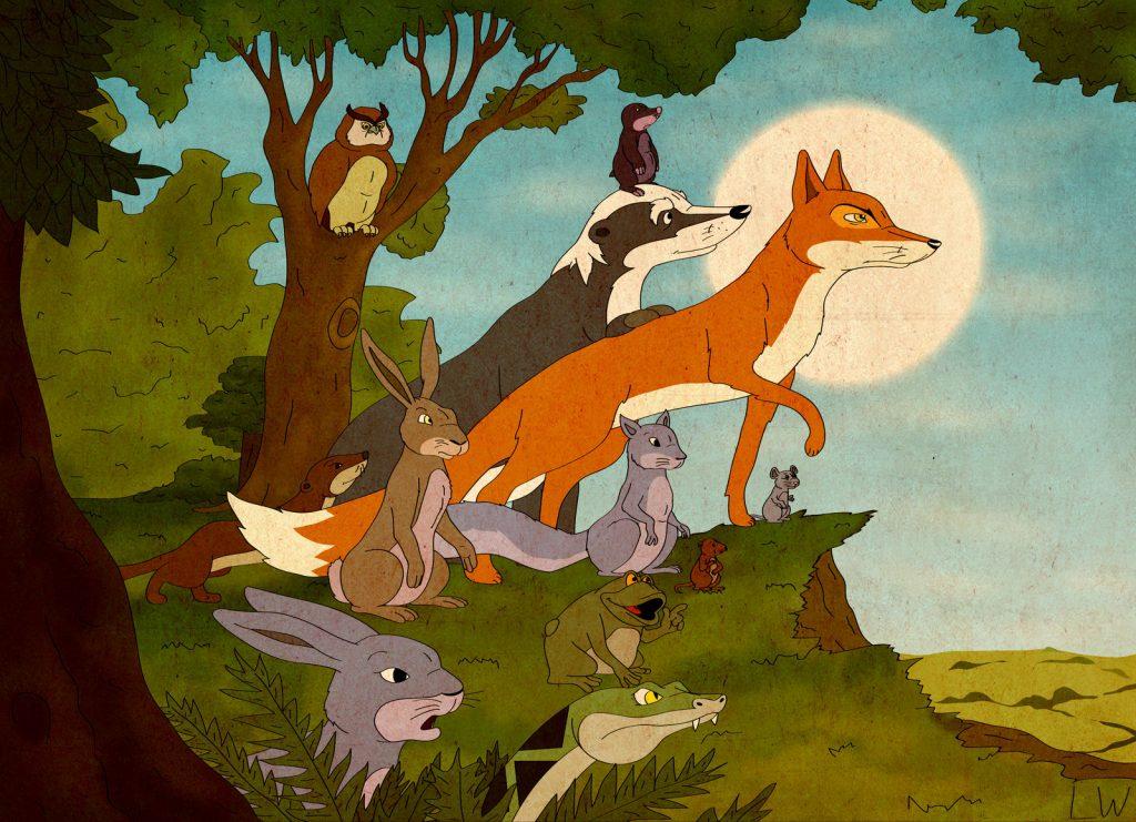 farthing wood 8 Cartoons That We Grew Up Watching!