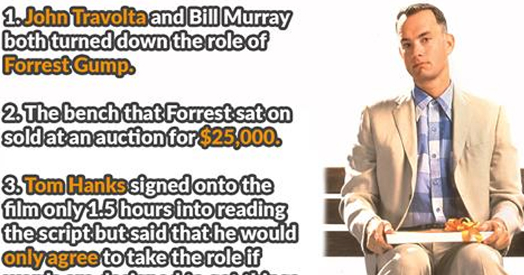50 Facts about Forrest Gump That Momma Didn't Tell You.