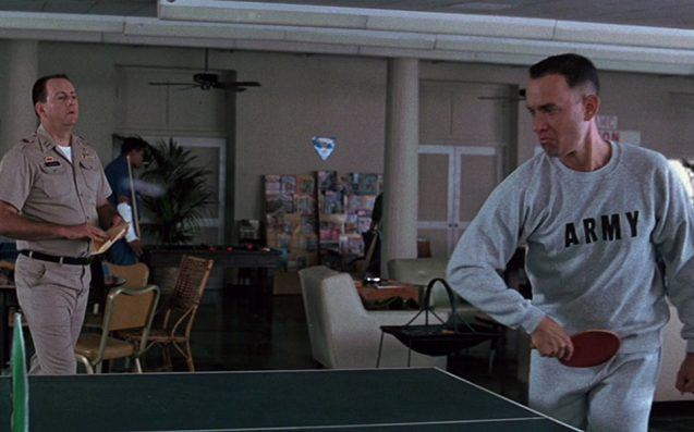 forrest gump ping pong 33 Things You Didn't Know About Forrest Gump