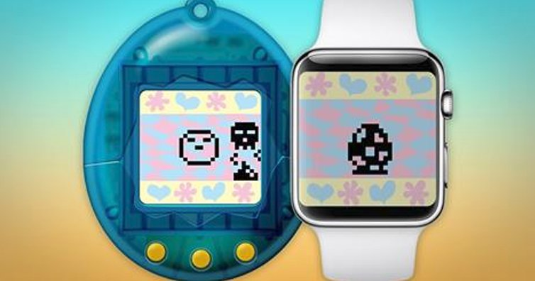 Tamagotchi, the Digital Toy from the '90s, Arrives on Apple Watch
