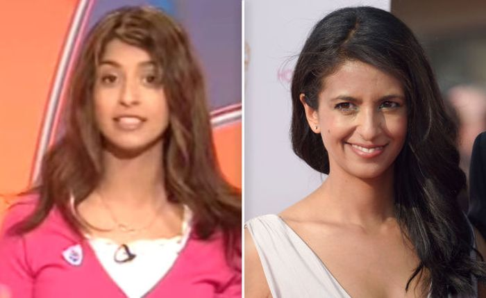 Konnie Huq then and now