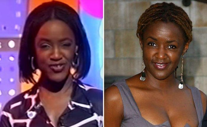 Diane-Louise Jordan then and now