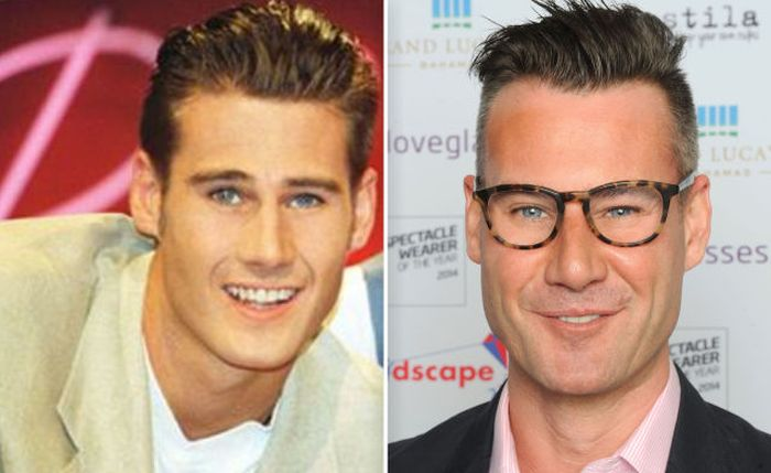 Tim Vincent then and now