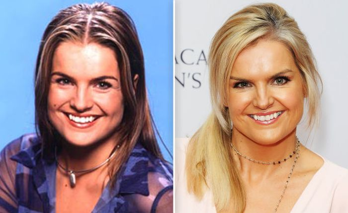 Katy Hill then and now