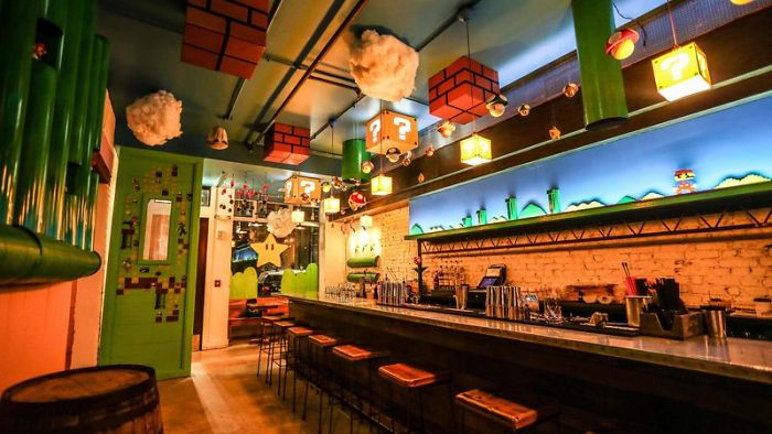 Mario Bar 4 Mario-Themed Bar Just Opened And It's Every Geek's Dream Come True