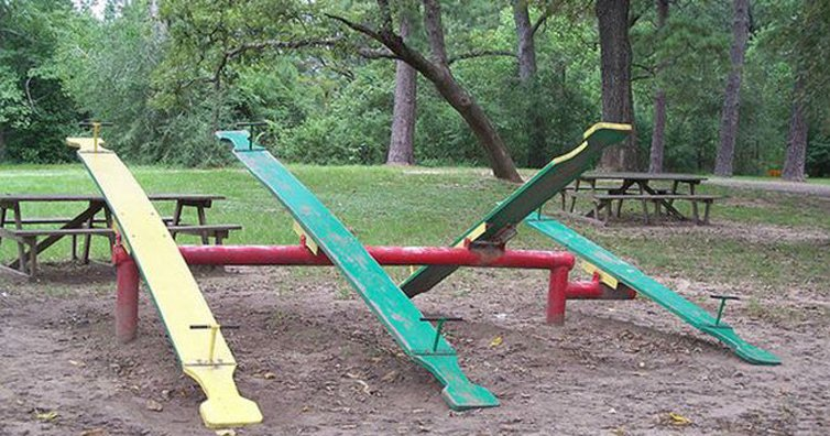 8 Pieces Of Playground Equipment You Probably Injured Yourself On!
