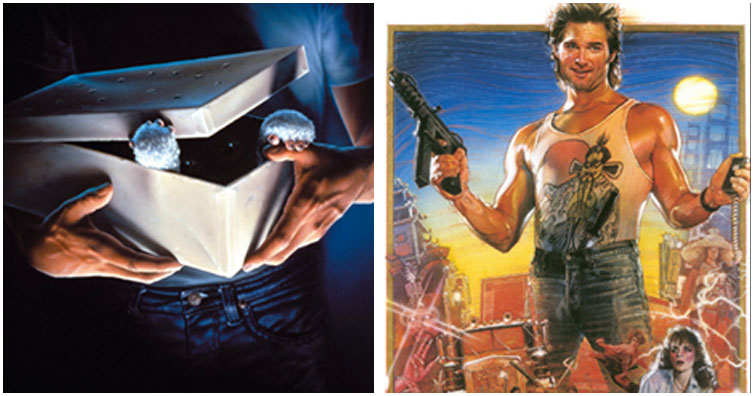 TEST YOURSELF: Can You Name The 80s Movie From The Textless Poster?