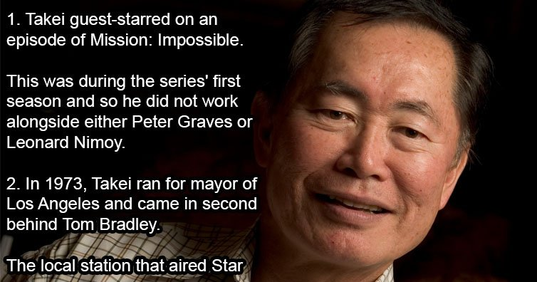 25 Things About George Takei That You Probably Didn't Know!