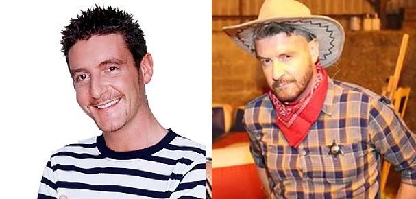 Jonny Regan from Big Brother 3, then and now