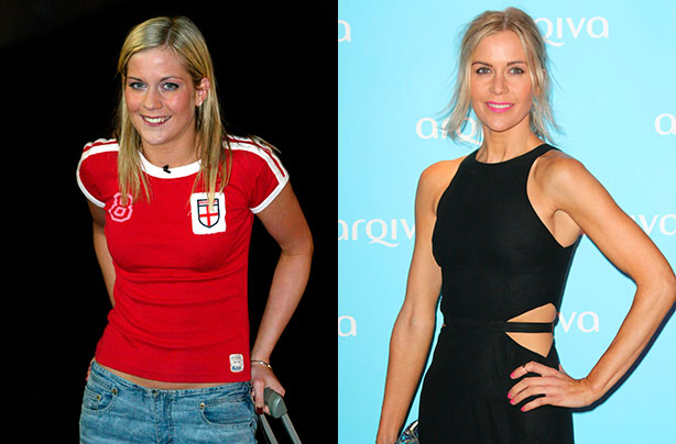 Kate Lawler from Big Brother 3, then and now