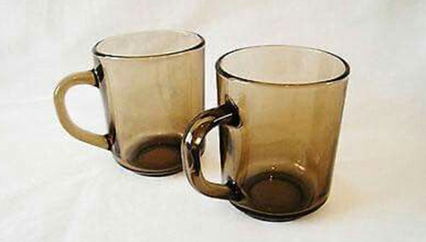 glass cups 14 Things You Probably Had In Your Kitchen While Growing Up