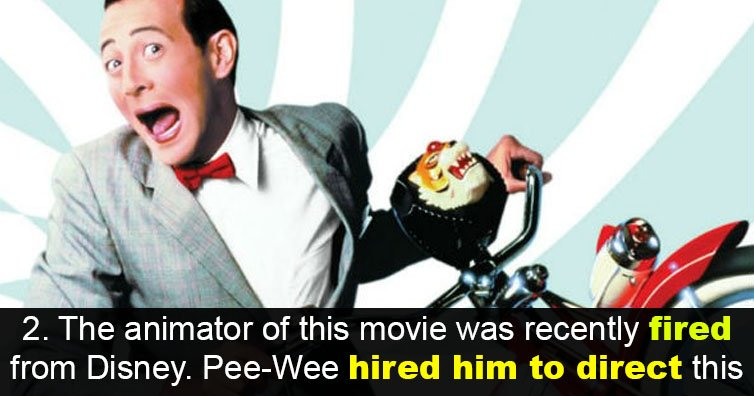 14 Things About 'Pee-Wee's Big Adventure' You Never Knew