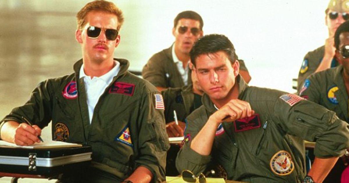 Maverick and Goose in Top Gun