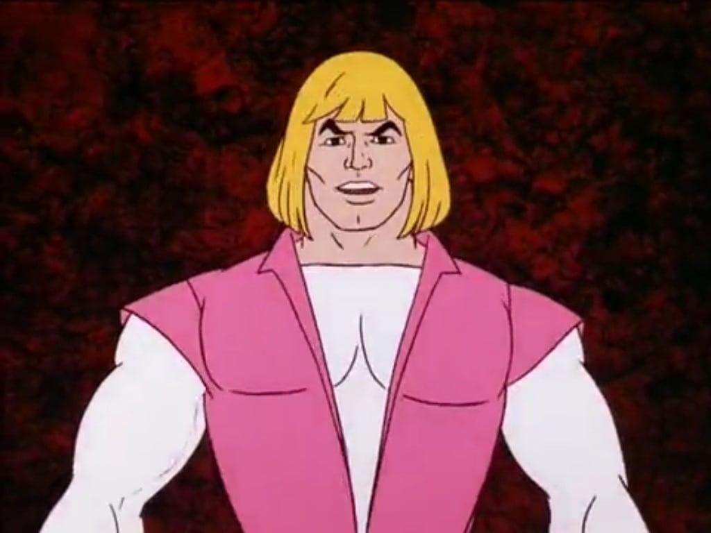 Prince Adam from the He-Man cartoon