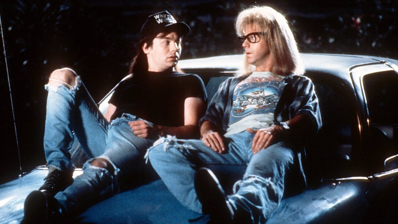 2 16 15 Things You May Not Have Realised About Wayne's World