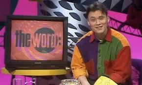 4. The Word 12 Controversial, Iconic And Weird Channel 4 Shows From The 80's and 90's