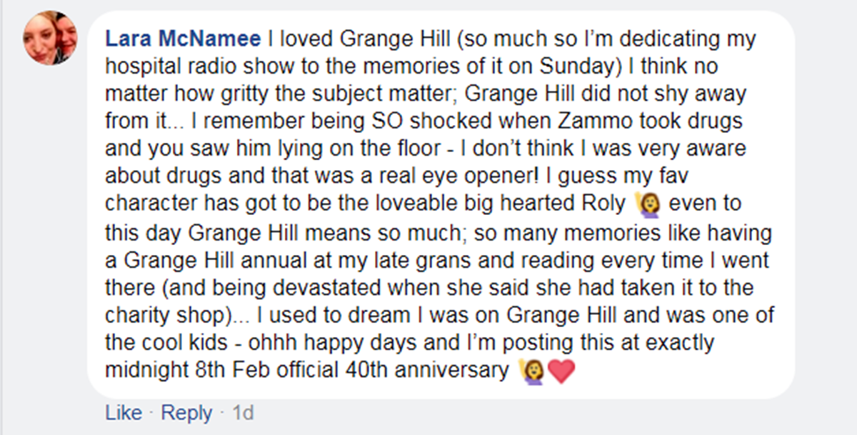 7 2 Grange Hill Fans Share Their Memories On The Show's 40th Anniversary