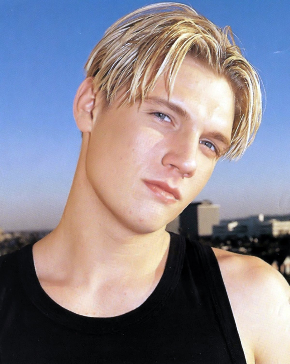 Nick Carter of the Backstreet Boys