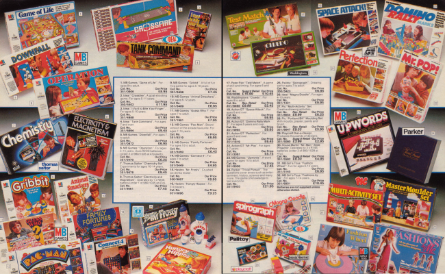 Board Games 19 Nostalgic Pages From The 1985 Argos Catalogue