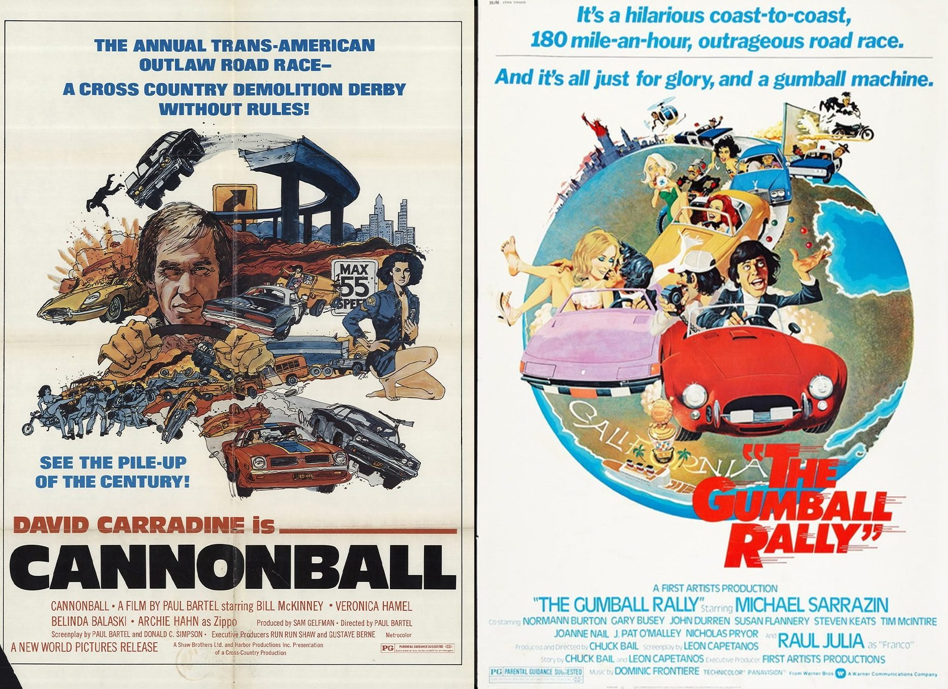 Cannonball the Gumball Rally e1627030779557 20 Fun Facts You Didn't Know About The Cannonball Run Films