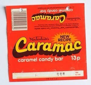 Caramac bar