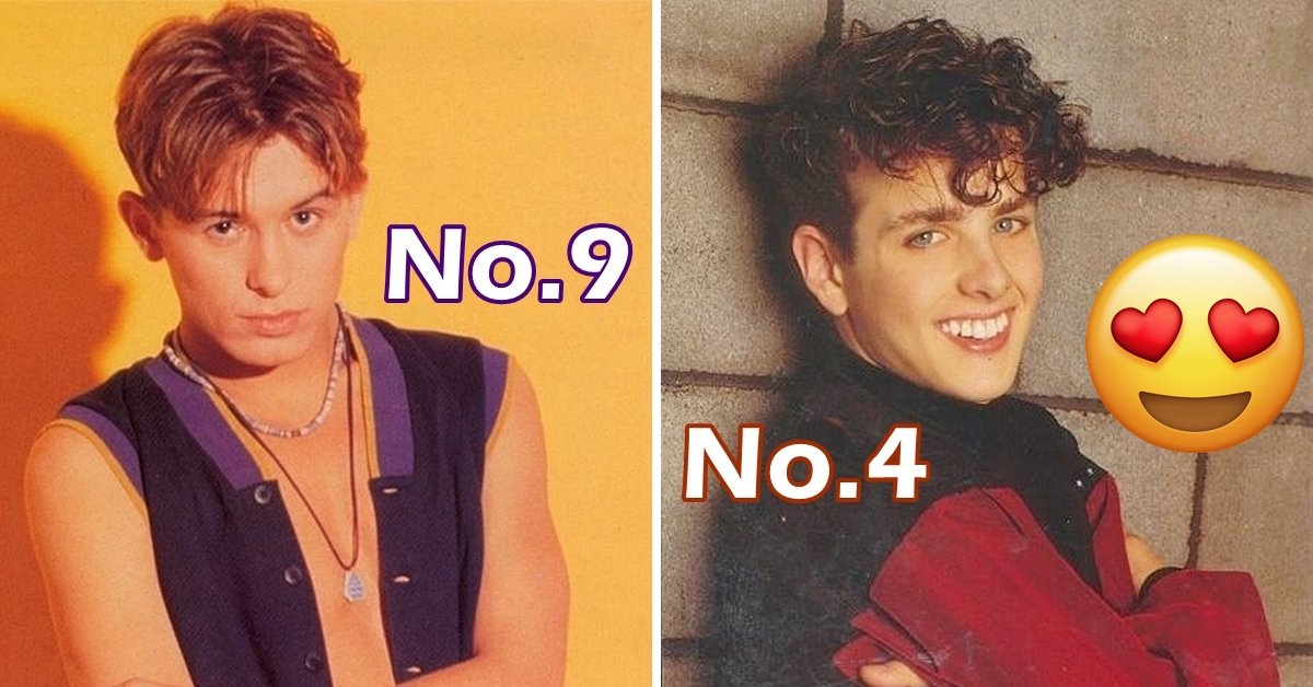 10 Boy Band Members All 80s Girls Had A Crush On