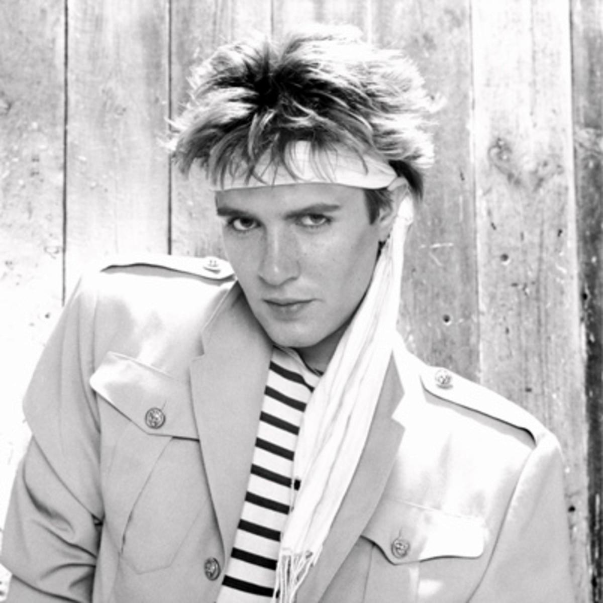 Simon Le Bon in the 1980s
