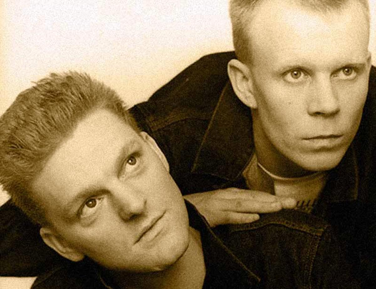 80s pop duo Erasure