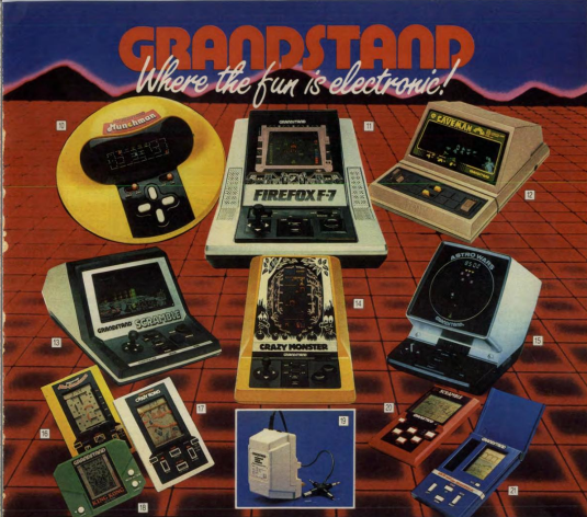 Grandstand 14 Games And Gadgets From When You Were Growing Up