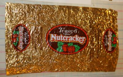 A Terry's Nutcrack wrapper