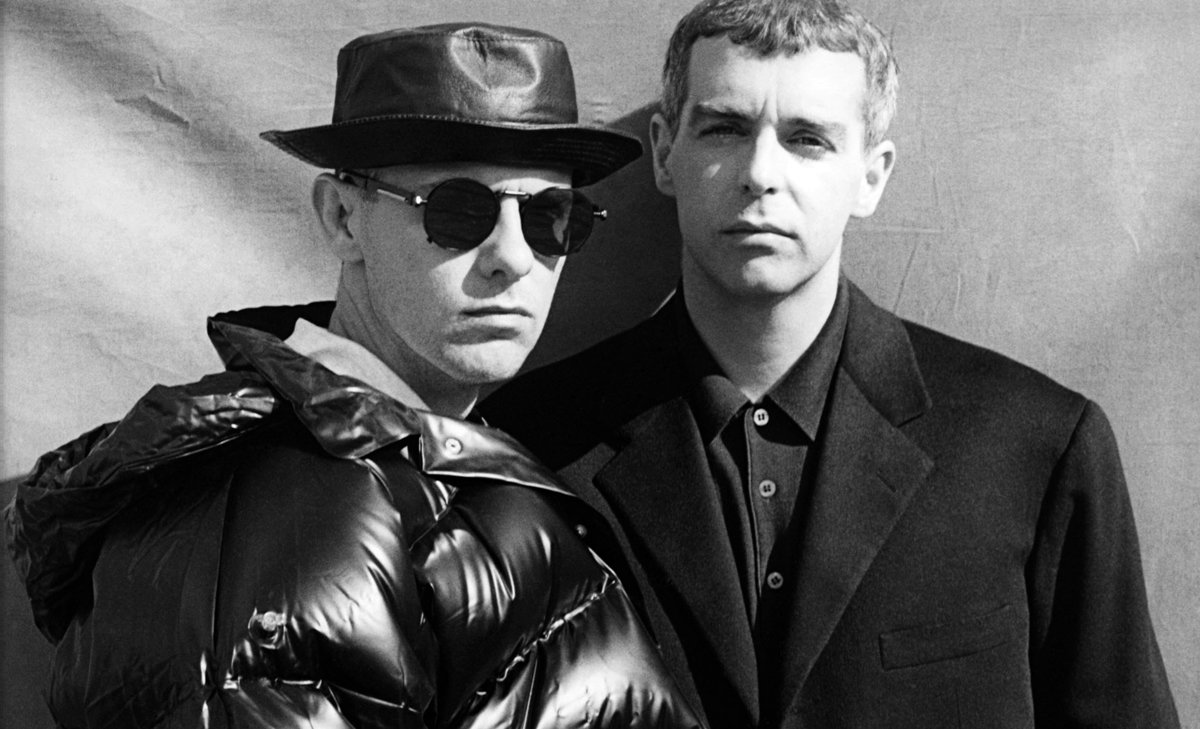 An early photograph of the Pet Shop Boys