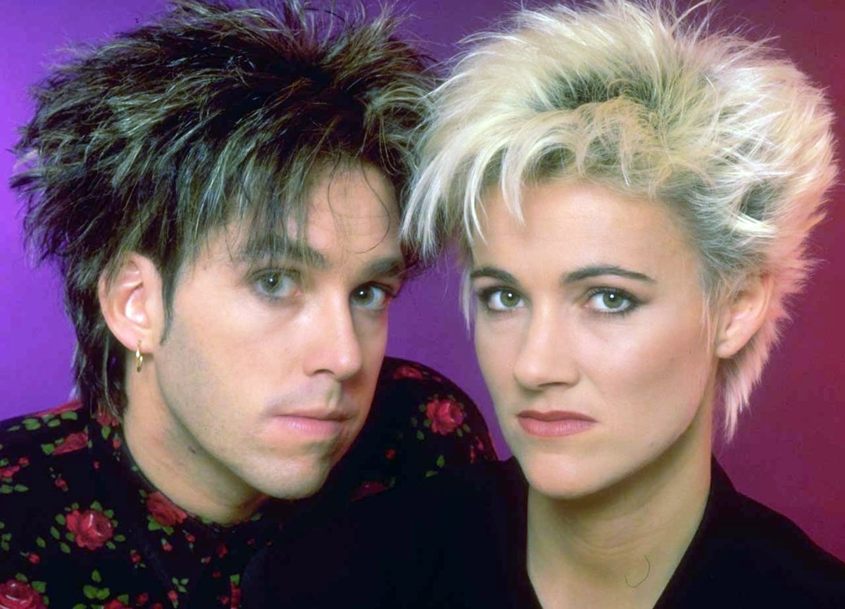 Pop duo Roxette back in the 80s