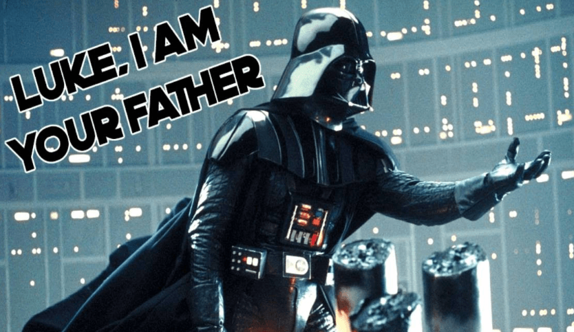 Darth Vader's famous quote from The Empire Strikes Back
