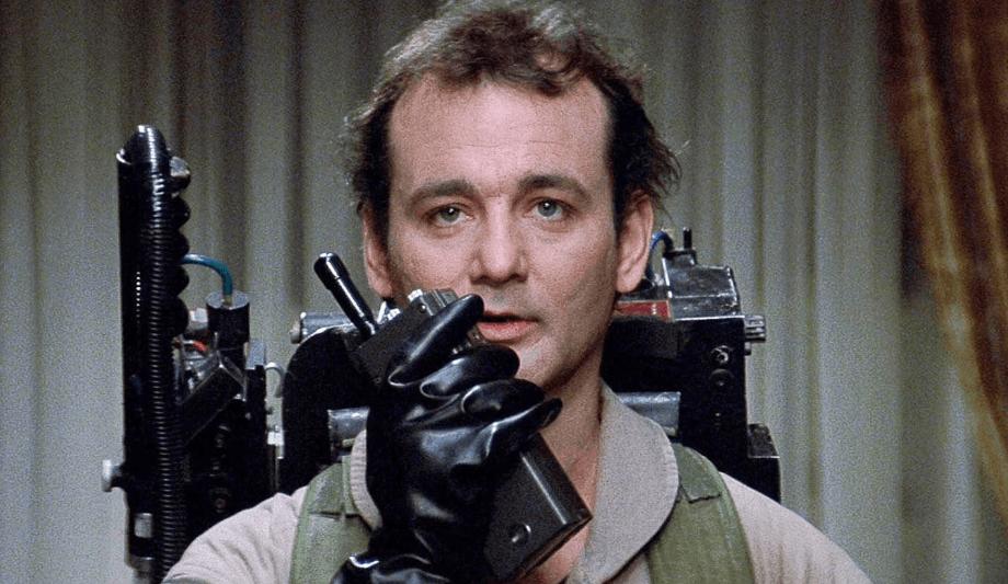 Bill Murray as Peter Venkman in Ghostbusters
