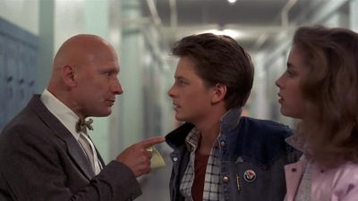 Strickland 12 Ways 'Back to the Future' Is Changed With Marty Using Social Media.
