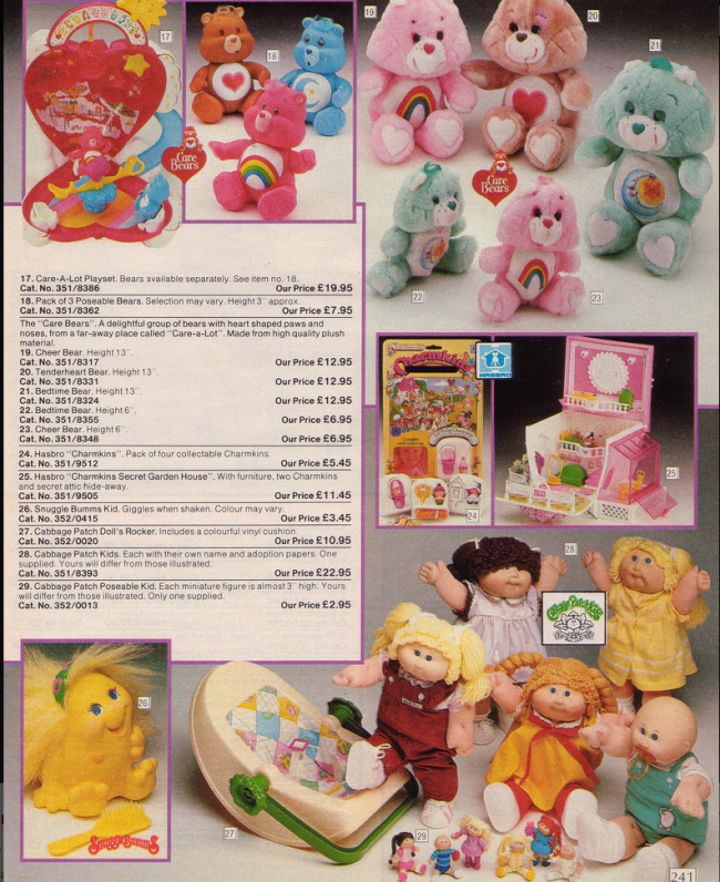 Toys 2 19 Nostalgic Pages From The 1985 Argos Catalogue