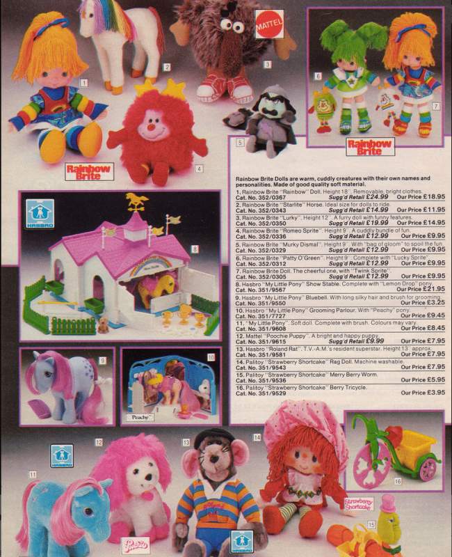 Toys 19 Nostalgic Pages From The 1985 Argos Catalogue