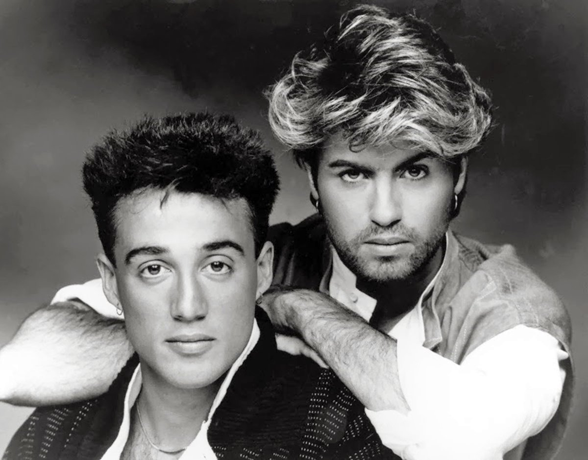 Wham! in their 80s heyday