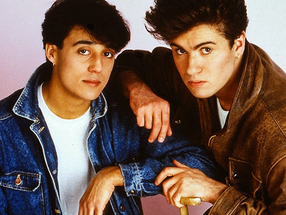 Wham! back in the 80s