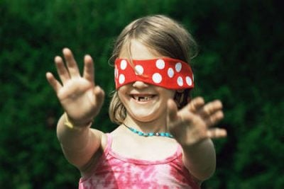 blind man bluff 10 Of The Greatest Children's Party Games