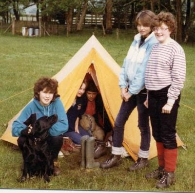 camping 10 Things We Used To Do In The School Holidays