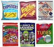 crisps 1980's Party Food Favourites - what was on your paper plate?