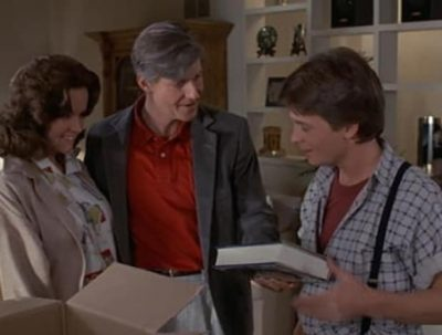 george happy 12 Ways 'Back to the Future' Is Changed With Marty Using Social Media.